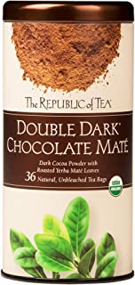 The Republic of Tea, Double Dark Chocolate Mate, 36 Count