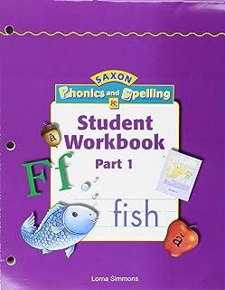 Saxon Phonics & Spelling K: Workbook Materials
