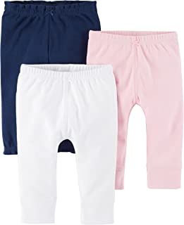 Baby Girls' 3-Pack Pants