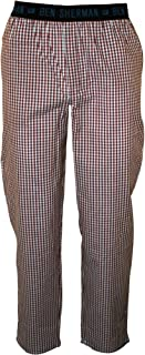 Woven Men's Lounge Pants, Red/Blue Check