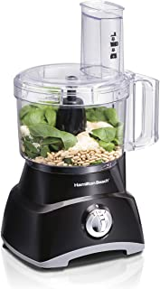 Hamilton Beach 8-Cup Compact Food Processor & Vegetable Chopper for Slicing, Shredding, Mincing,...