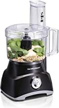 Hamilton Beach 8-Cup Compact Food Processor & Vegetable Chopper for Slicing, Shredding, Mincing, and puree, 450 Watts, Bla...