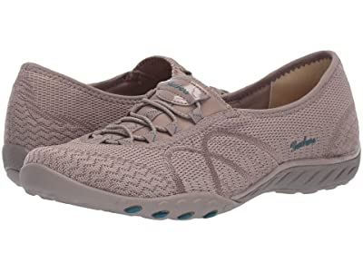 SKECHERS Breathe Easy Sweet Jam (Taupe) Women