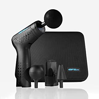 BFGun Pocket HyperDrive Percussive Therapy Muscle Massager Gun Stimulator - Real-Time Pain Relief Deep Tissue Shiatsu Trigger Point Sports Recovery Massager ImpactPlus