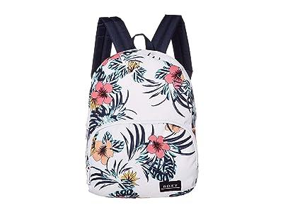 Roxy Always Core Backpack (Bright White Badami) Backpack Bags