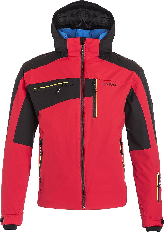 (IT 46 XS, Red   Black)  Hyra Kitzbuehel Easy Line, Men's Ski Jacket, Men's, Kitzbuehel Easy Line