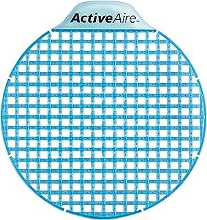 ActiveAire Low-Splash Deodorizer Urinal Screen by GP PRO (Georgia-Pacific), Coastal Breeze, 48260, 12 Screens Per Case
