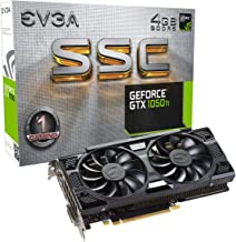 EVGA GeForce GTX 1050 Ti SSC Gaming ACX 3.0, 4GB GDDR5, DX12 OSD Support (PXOC) Graphics Card 04G-P4-6255-KR (Renewed)