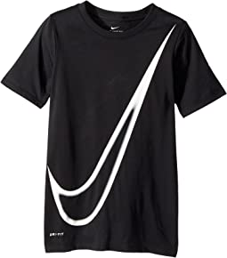 Nike Kids - Dry Big Swoosh Training T-Shirt (Little Kids/Big Kids)