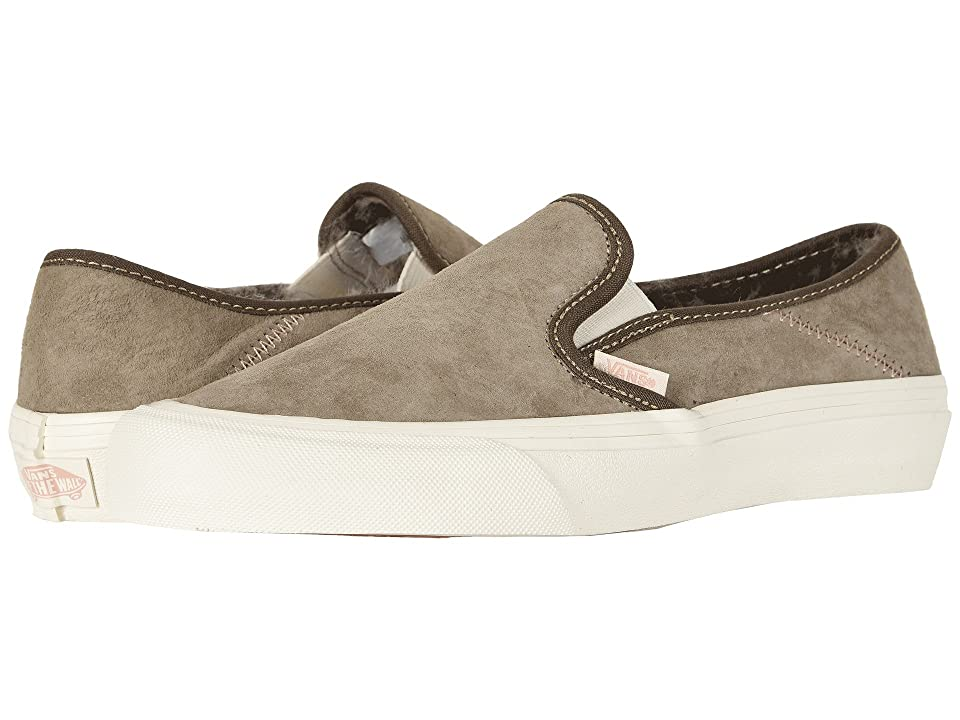 Vans Slip-On SF ((Wolf Pack) Desert Taupe) Shoes