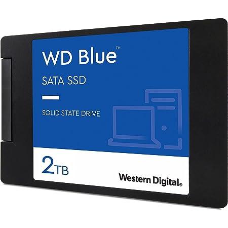 Western Digital ウエスタンデジタル 内蔵SSD 2TB WD Blue PC PS4 換装 2.5インチ WDS200T2B0A-EC 【国内正規代理店品】
