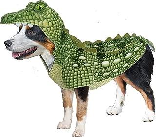 Amazing Pet Products Realistic Green Crocodile Dog Halloween Costume