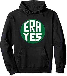 ERA YES Equal Rights Amendment Vintage Pin Feminist Pullover Hoodie
