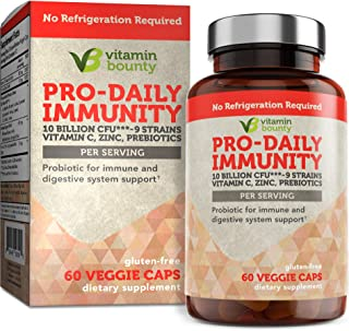 Sponsored Ad - Immune Support Probiotics with Vitamin C & Zinc + Prebiotics - 10 Strains to Help Immune Boost defenses Nat...