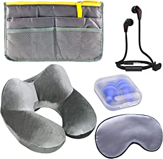 The Prepared Traveler Bundle with Organizer Bag and Traveling Accessories