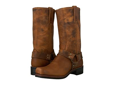 Frye Harness 12R (Dark Brown) Cowboy Boots