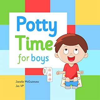 Potty Time for Boys: Potty Training for Toddler Boys