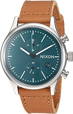 Nixon - The Station Chrono Leather