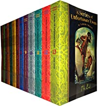 A Series of Unfortunate Events Lemony Snicket 13 Books Collection Pack Set (Includes the Bad Beginning, the Reptile Room, ...