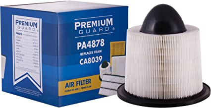 Premium Guard Air Filter PA4878 | Fits 2014-2003 Ford E-150, 2014-2003 Ford E-250, 2018-1999 Ford E-350 Super Duty, 2017-2003 Ford E-450 Super Duty, 2004-1997 Ford Expedition, 2008-1997 Ford F-150, 20