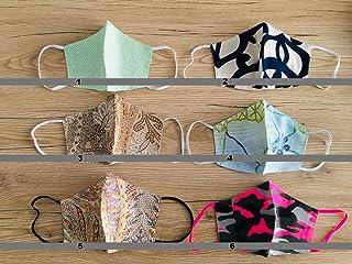 Tina Codazzo Home Crea il tuo set 4 beccucci in cotone multiuso lavabile fantasie assortite, set 4 pezzi