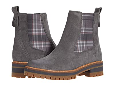 Timberland Courmayeur Valley Chelsea (Dark Grey Suede) Women