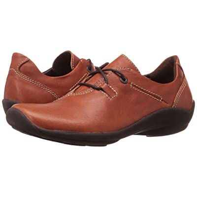 Wolky Rosa (Cognac Greased) Women