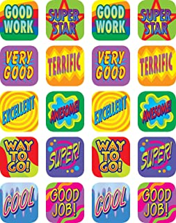 Teacher Created Resources Good Work Stickers, Multi Color (1990)