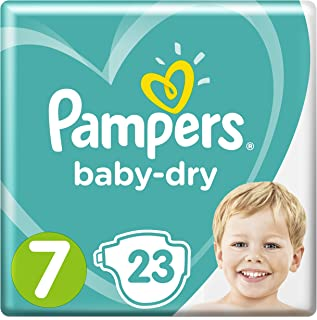 /25/Kg Ni/ños Baby diapers Paquete 3/x PAMPERS Baby Dry Talla 5/17/Pa/ñales 11/