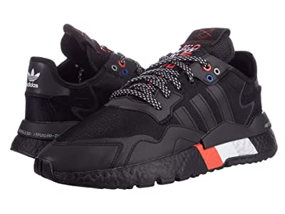adidas Originals Nite Jogger (Black/Black/Silver) Men