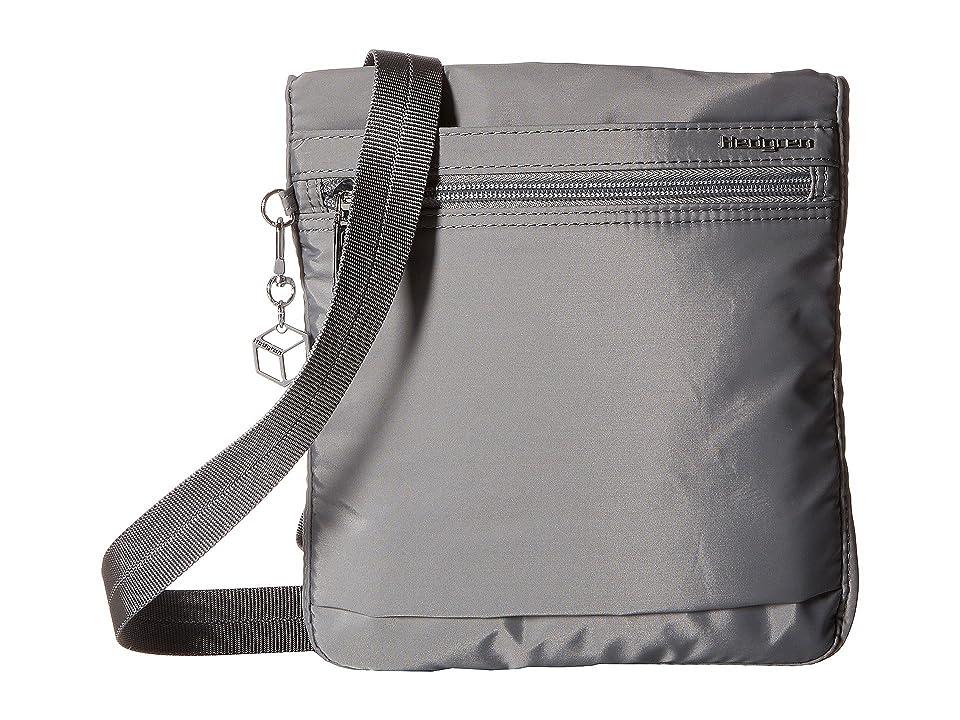 Hedgren Leonce RFID Shoulder Bag (Titanium) Shoulder Handbags