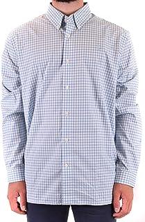 قميص بنمط مربعات جينجام بلونين للرجال من فرد بري