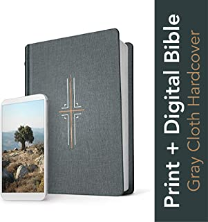 Tyndale NLT Filament Bible (Hardcover Cloth, Gray): Premium Bible with Access to Filament Bible App, Mobile Access to Study Notes, Devotionals, Video and More