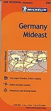 michelin ألمانيا mideast خريطة 544(الخرائط/regional (michelin))
