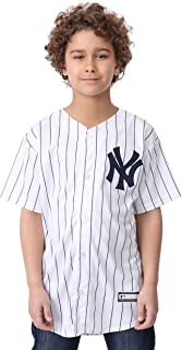 Outerstuff Giancarlo Stanton New York Yankees #27 Youth Cool Base Home Jersey