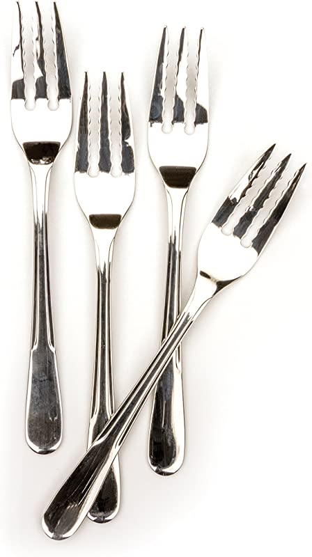 RSVP Endurance 18 8 Stainless Steel Pasta Forks Set Of 4