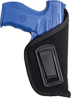 Allen Company IWB, Inside The Pant Handgun Gun Holster, Right-Handed, Suede Black, 8 different sizes