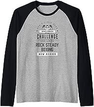 Rock Steady Boxing Parkinson's Shirt - New Mexico Raglan Baseball Tee