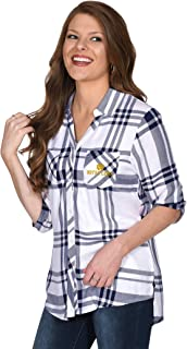 UG Apparel NCAA Womens Satin Weave Plaid