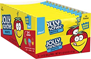 JOLLY RANCHER Misfits Candy Gummies, 3.4 Ounce (Pack of 12)