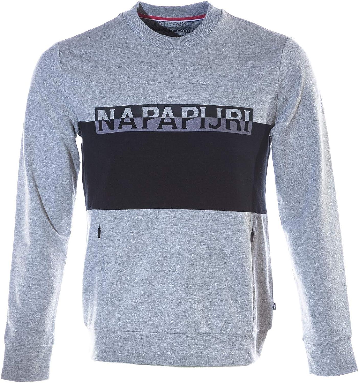 Napapijri Men's Hooded Half-Zip Teide 1 Fleece Black