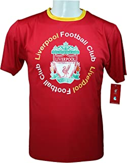 Liverpool F.C. Official Youth Soccer Training Performance Poly Jersey -Y007R