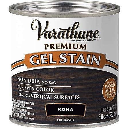 Varathane 349559 Premium Gel Stain, Half Pint, Kona