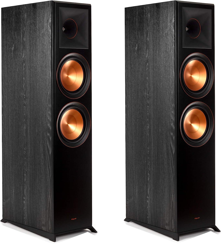 Amazon.com: Klipsch RP-8000F Floorstanding Speaker Pair in Ebony: Electronics