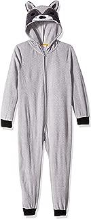 Boys' Big Raccoon Hooded Blanket Sleeper