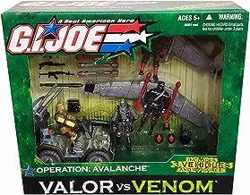 G.I. Joe: Valor vs. Venom - Operation Avalanche includes 2x Cobra Gliders, Assault Quad with Snake Eyes, Dusty, Storm Shadow & Iron Grenadier Action Figures