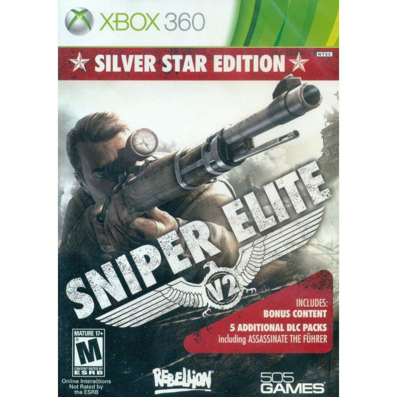 Sniper Elite Max Free shipping / New 84% OFF V2: Silver Star Xbox - Edition 360