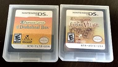 2 Ds Game Professor Layton Diabolical Box; Curious Village Bundle