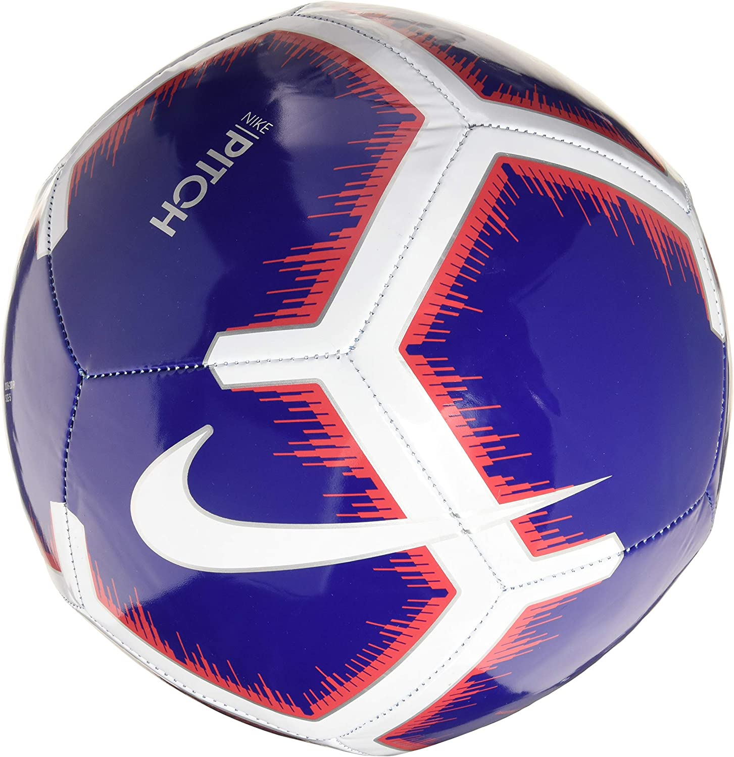 lista Individualidad Tejido  Nike Pitch Premier League Football 2018/2019, deep Royal  Blue/White/red/Whit, 5: Amazon.co.uk: Sports & Outdoors
