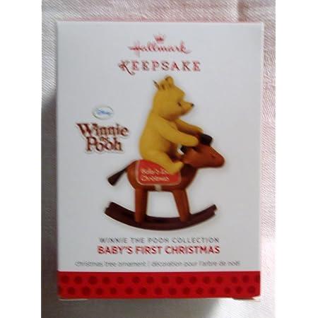 NIB 2014 HALLMARK KEEPSAKE ORNAMENT BABY/'S FIRST CHRISTMAS WINNIE THE POOH NEW